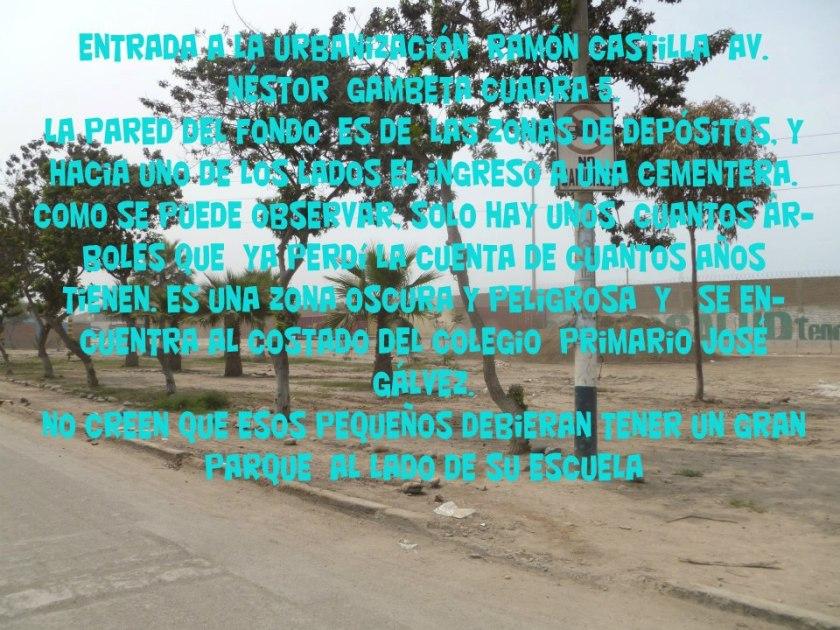 CALLAO  URB RAMON CASTILLA 544545 A
