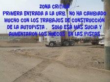 """ALTURA DE LA CUADRA 5 AV. NÉSTOR  GAMBETA CALLAO. Miles de niños en edad escolar en el Callao se encuentran en grave peligro por contaminación con plomo debido al mal manejo en materia ambiental ,pese a las constantes denuncias continúa exponiendo el mineral en el ambiente .  """"La tierra es nuestro refugio; ayudemos a protegerla y cuidarla ya que ello depende el futuro de muchas generaciones.""""  Luis A. Troche Márquez. Ingeniero Geógrafo de La Paz, Bolivia"""