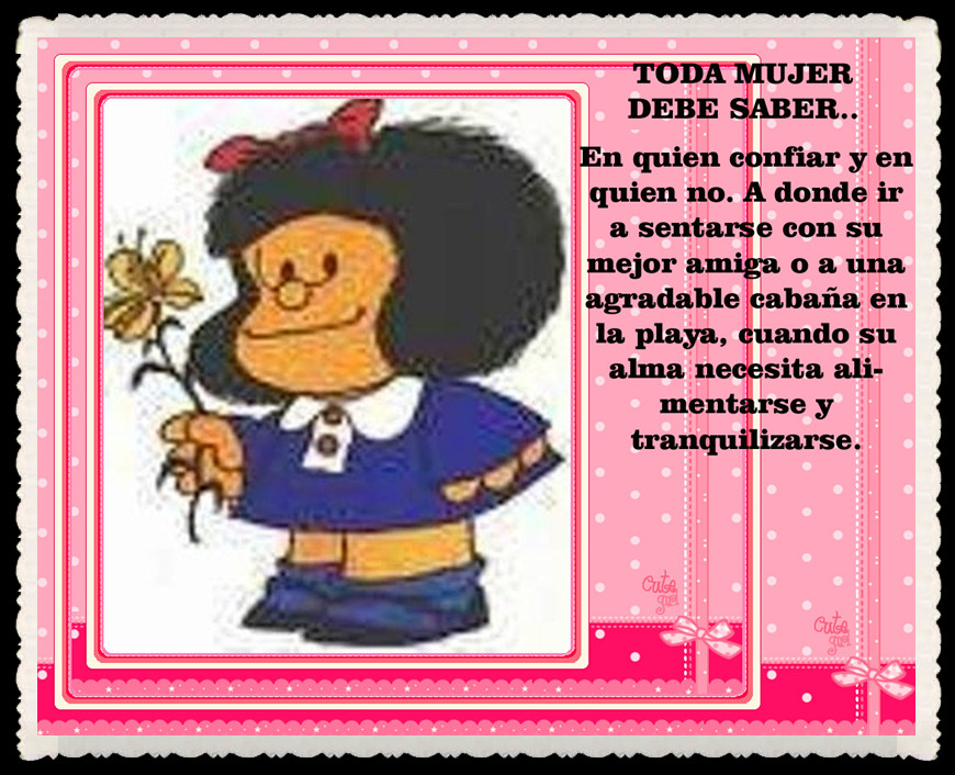 Frases De Mafalda Sobre Cumpleaños Imagui