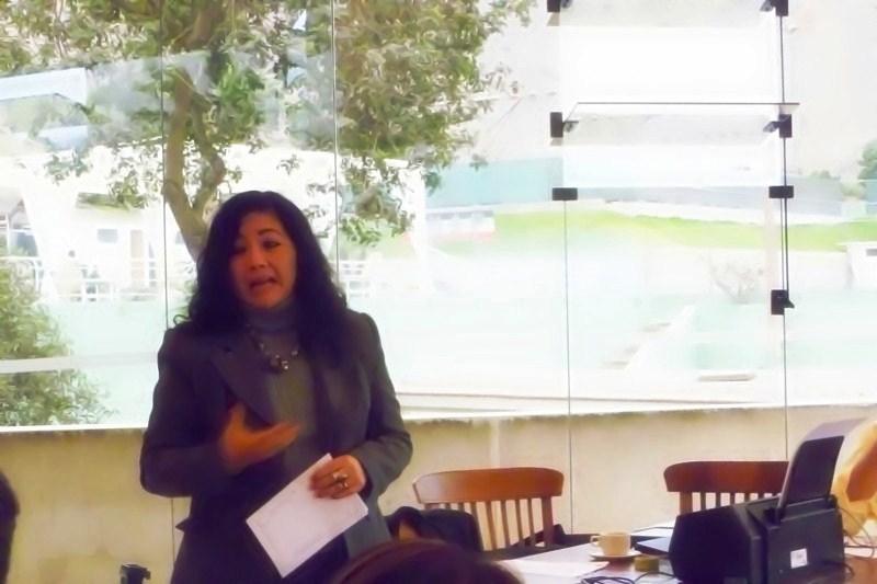Fanny Jem Wong durante  la ceremonia inaugural del ICPP