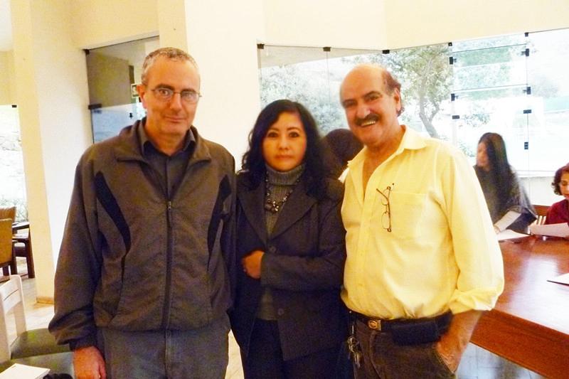 Farid Kahhat, Fanny Jem Wong y Sami Kajatt