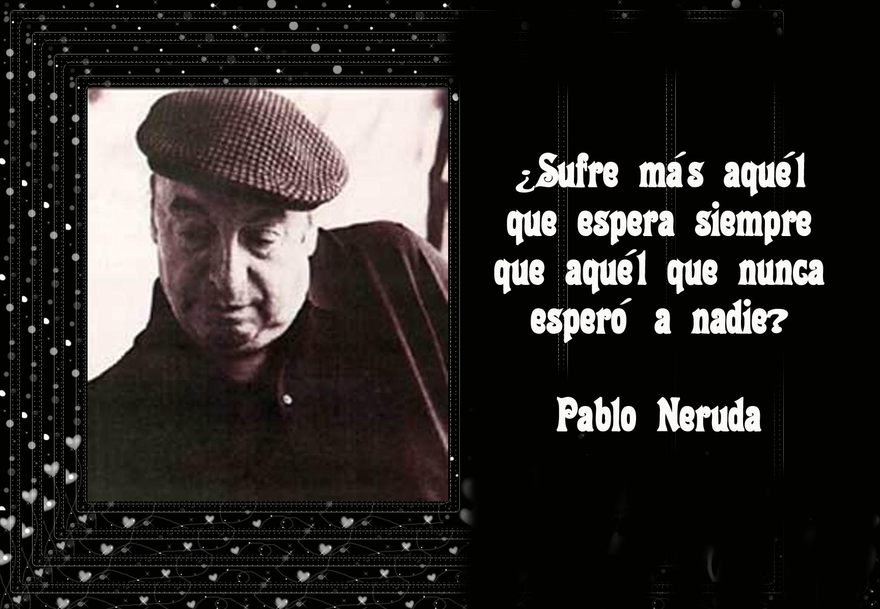 Poemas de Pablo Neruda - Los Poetas