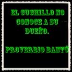 Proverbio bantú