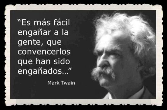 Frases Celebres Mark Twain Humor Grafico Religioso Ateismo