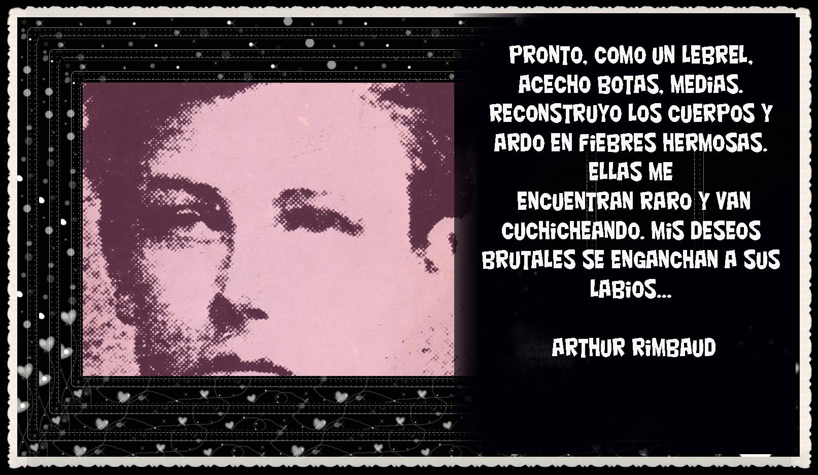 Frases Poemas Ilustrados Arthur Rimbaud Poeta Maldito