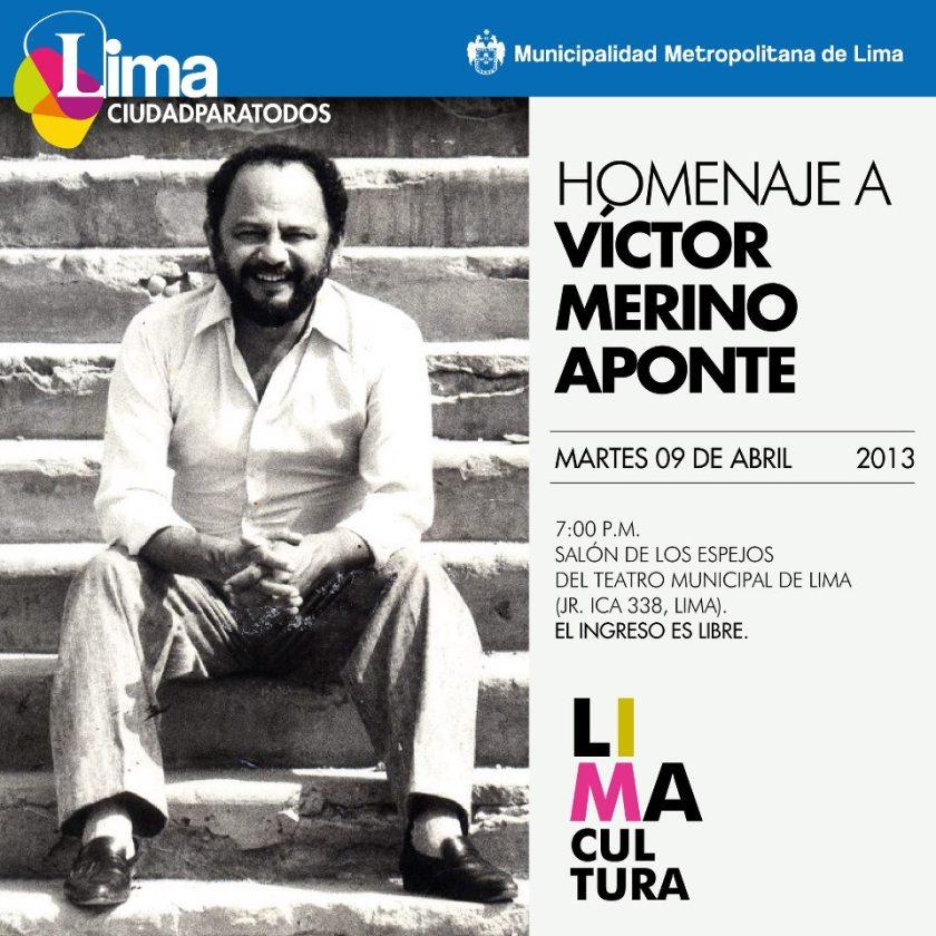 Víctor Merino músico compositor  peruano