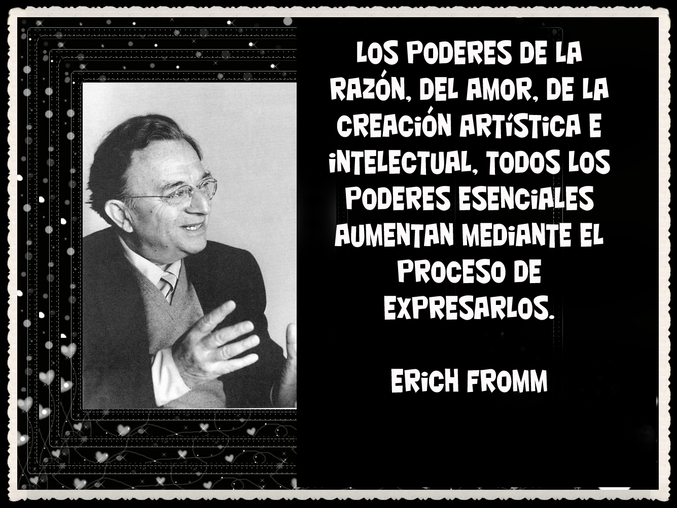 erich fromm Predatory narcissists were a focus for erich fromm, the psychotherapist who  continues to influence public opinion with his well-considered and.
