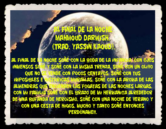 Poesia Arabe Traducida Por Yassin Kaoud Fannyjemwong S Blog