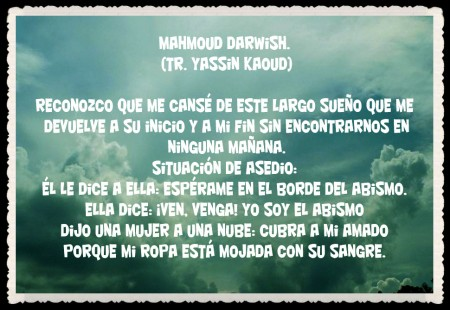 POEMAS ARABES TRADUCCIÉS DE Yassin Kaoud  (64444444447)