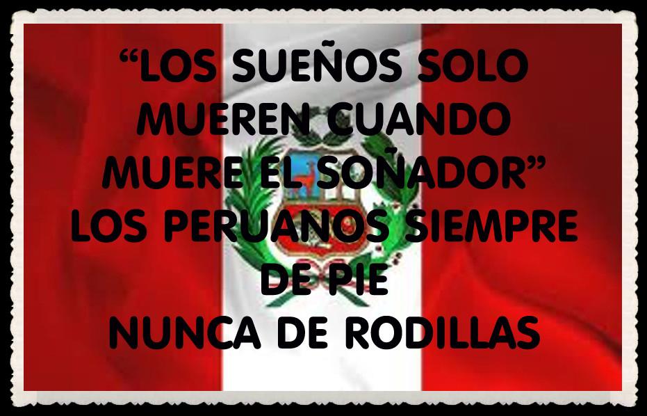 La Bandera : Poema de la bandera del Perú