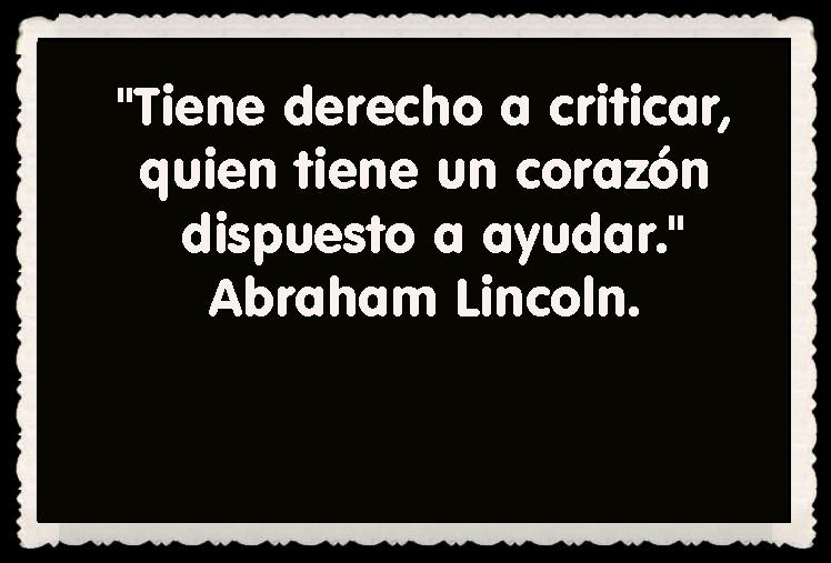 Abraham Lincoln FRASES BONITAS CITAS Y PENSAMIENTOS      (22)