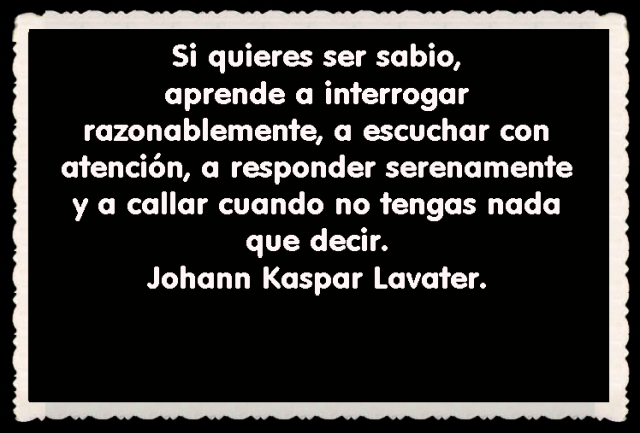 Johann Kaspar Lavater FRASES BONITAS CITAS Y PENSAMIENTOS      (22)