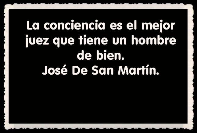José De San Martín FRASES BONITAS CITAS Y PENSAMIENTOS      (22)