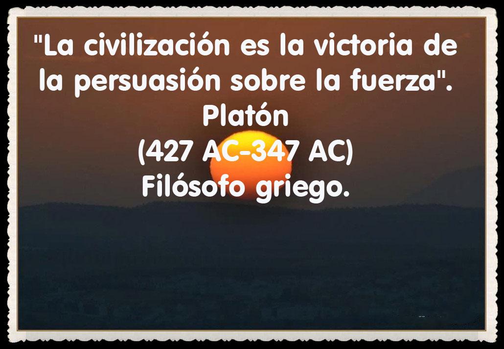 Platón  FRASES BONITAS CITAS Y PENSAMIENTOS      (88)