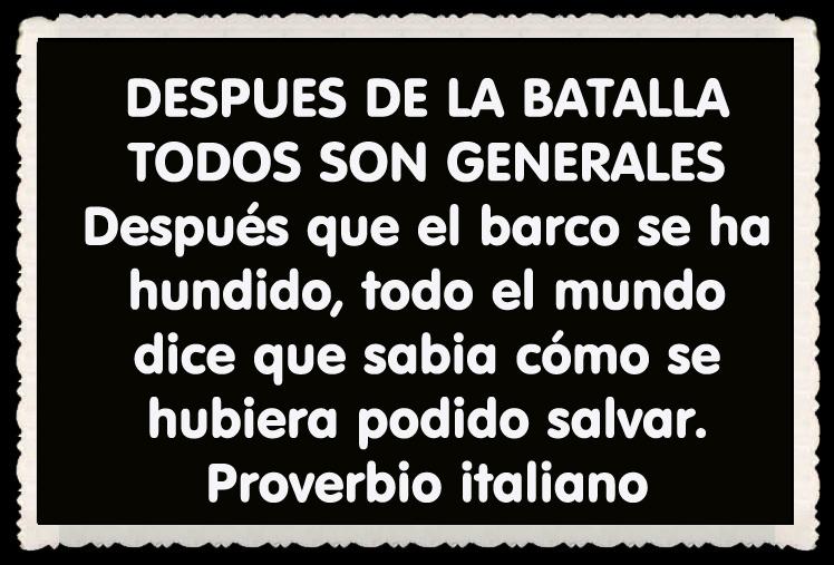 Proverbio italiano FRASES BONITAS CITAS Y PENSAMIENTOS      (27)
