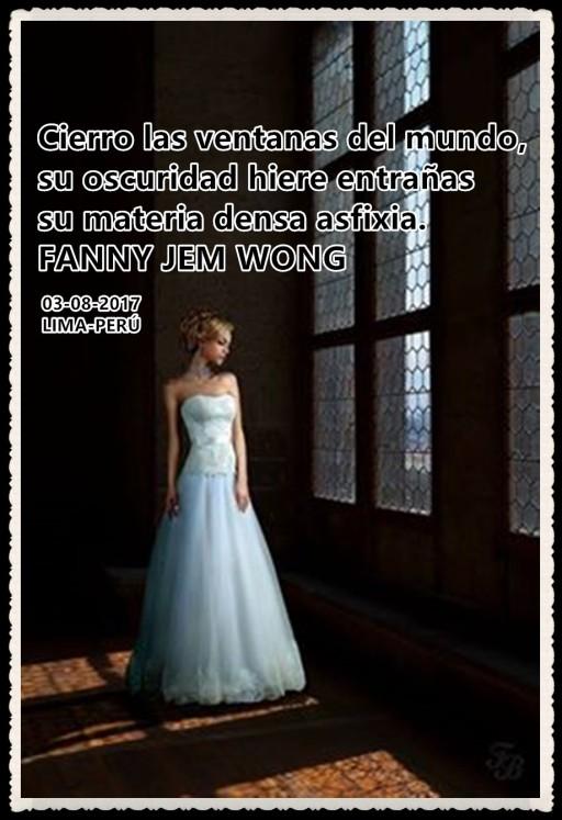 Cierro las ventanas del mundo FANNY JEM WONG