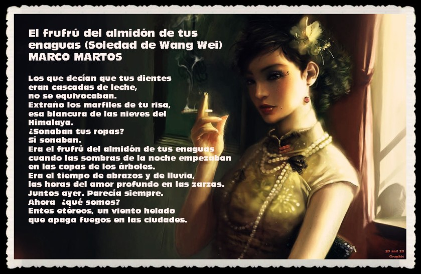 POEMA DEL DR MARCO MARTOS