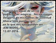 POEMA DESPERTARES POR FANNY JEM WONG 2016