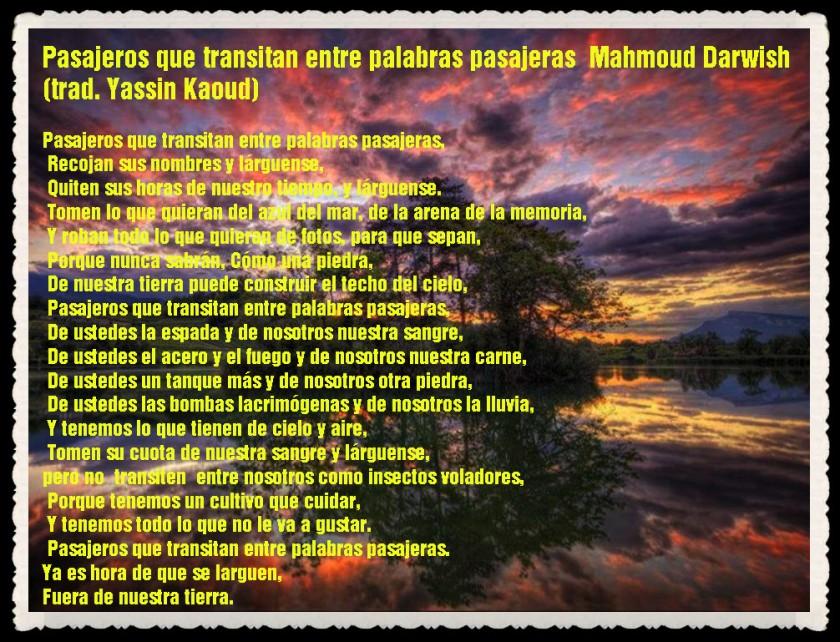 YASSIN KAOUD POESÍA ARABE Y TRADUCCIONES ----   (1)