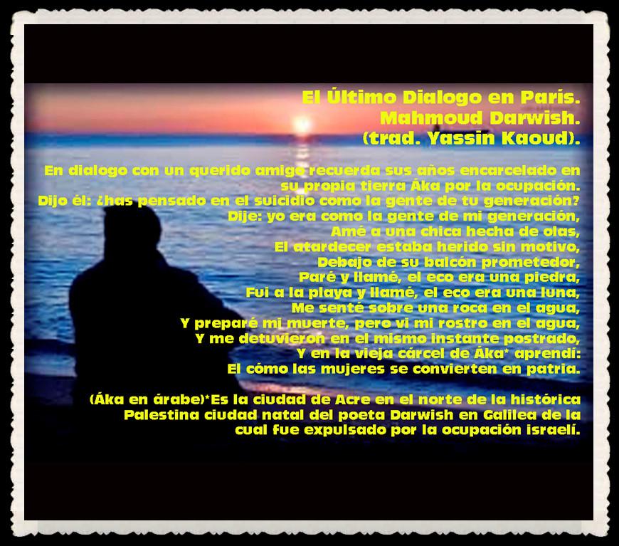YASSIN KAOUD POESÍA ARABE Y TRADUCCIONES ----  (34)