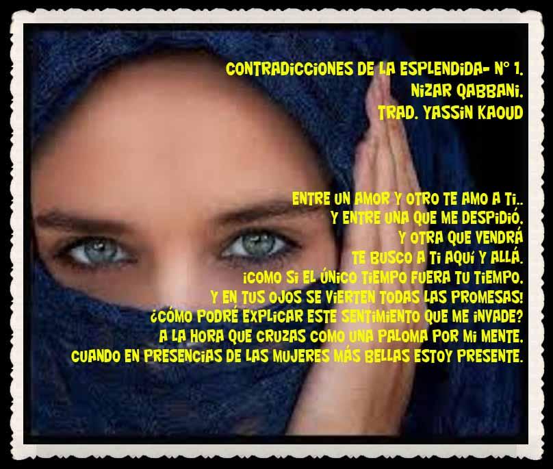YASSIN KAOUD POESÍA ARABE Y TRADUCCIONES -  (39)