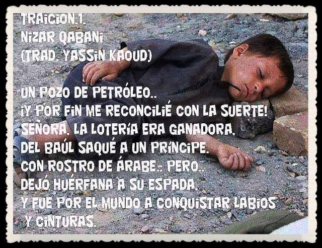 YASSIN KAOUD POESÍA ARABE Y TRADUCCIONES -  (48)