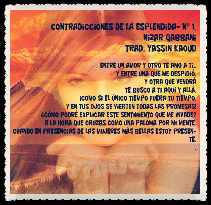YASSIN KAOUD POESÍA ARABE Y TRADUCCIONES -  (57)