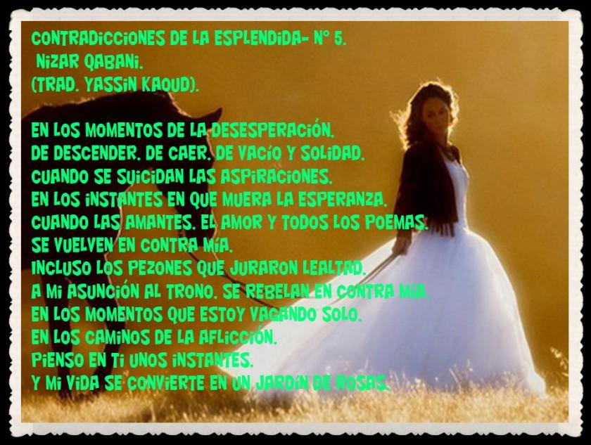 YASSIN KAOUD POESÍA ARABE Y TRADUCCIONES -  (58)