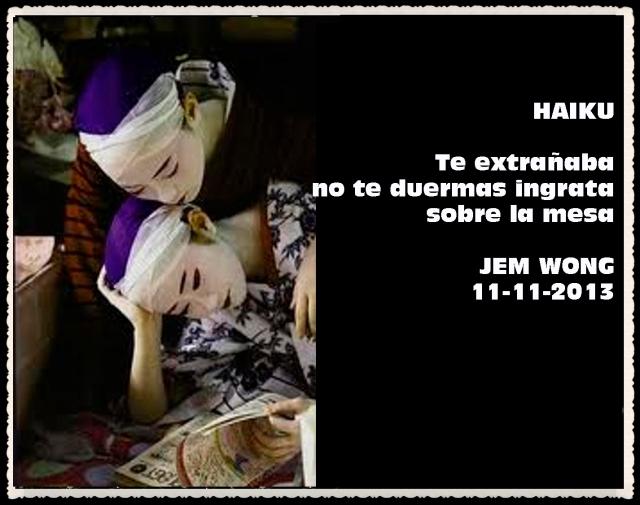 FANNY JEM WONG HAIKUS Y VERSOS CORTOS   (18)