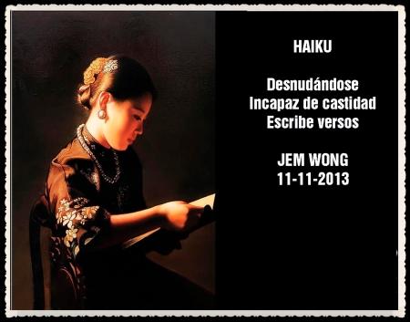 FANNY JEM WONG HAIKUS Y VERSOS CORTOS   (30)
