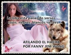 AFILANDO EL HACHA POR FANNY JEM WONG