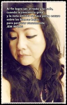FANNY JEM WONG 2013- POETA PERUANA FRAGMENTO POESÍA