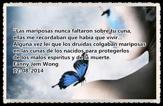 FANNY JEM WONG - las mariposas nunca faltaron