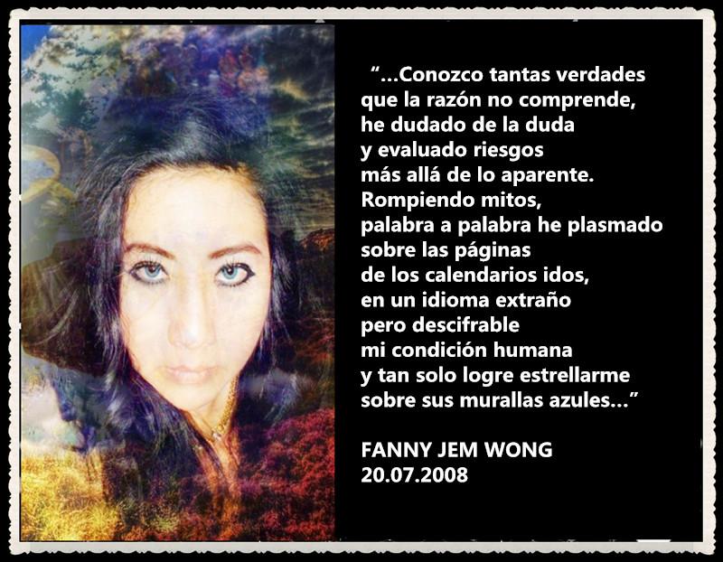 FANNY JEM WONG RETAZOS DE POEMAS