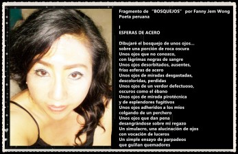 "Fragmento de ""BOSQUEJOS"" por Fanny Jem Wong"