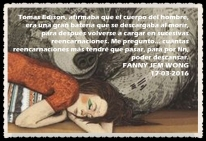 poder descansar FANNY JEM WONG
