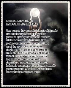 PUERTA IMPACIENTE poema