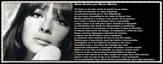 Diane Keaton POR MARCO MARTOS CARRERA POETA PERUANO