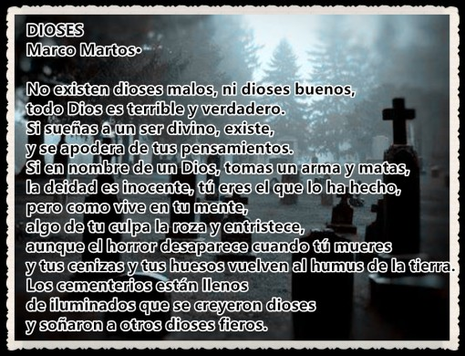 DIOSES POR MARCO MARTOS CARRERA