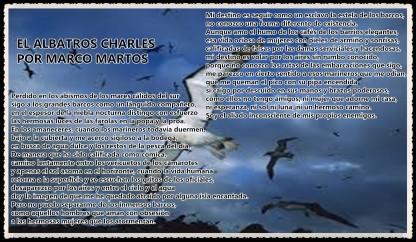 EL ALBATROS CHARLES POR MARCO MARTOS CARRERA POETA PERUANO