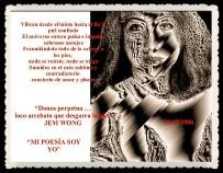 FANNY JEM WONG -FRAGMENTOS DE POESÍA- POETA PERUANA (100)