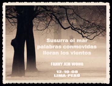 FANNY JEM WONG -FRAGMENTOS DE POESÍA- POETA PERUANA (102)