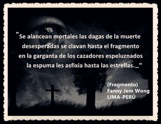 FANNY JEM WONG -FRAGMENTOS DE POESÍA- POETA PERUANA (103)