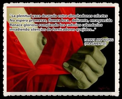 FANNY JEM WONG -FRAGMENTOS DE POESÍA- POETA PERUANA (104)