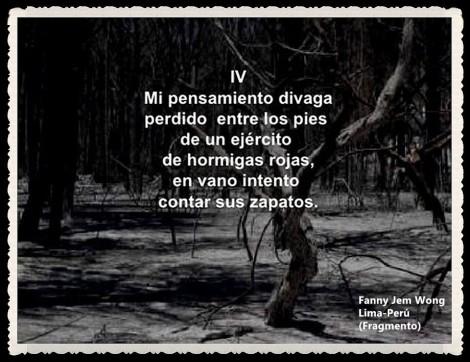 FANNY JEM WONG -FRAGMENTOS DE POESÍA- POETA PERUANA (109)