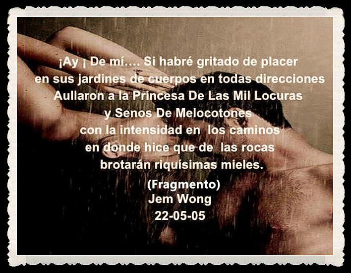 FANNY JEM WONG -FRAGMENTOS DE POESÍA- POETA PERUANA (11)