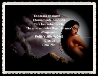FANNY JEM WONG -FRAGMENTOS DE POESÍA- POETA PERUANA (13)