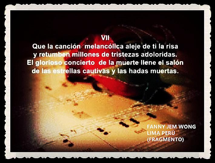 FANNY JEM WONG -FRAGMENTOS DE POESÍA- POETA PERUANA (22)