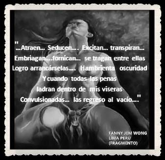 FANNY JEM WONG -FRAGMENTOS DE POESÍA- POETA PERUANA (23)