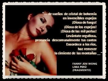 FANNY JEM WONG -FRAGMENTOS DE POESÍA- POETA PERUANA (24)
